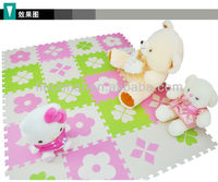 Countryside floor mat with clover