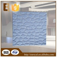 Factory Direct 3D Texture Light Weight Interior Soundproof Wall Panel for Audio-visual Room