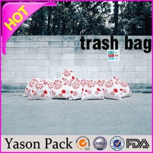 Yason plastic rubbish bags garbage plastic bag trash bag for hospital