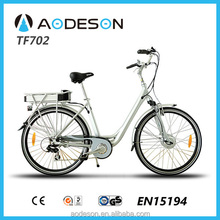 Hot sale 36V electric lady bike TF702 25km/h speed for Europe