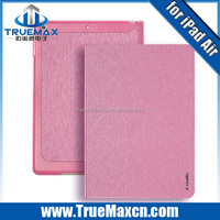 For iPad air smart case , Stand leather case for iPad air with high quality and nice price