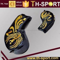 phoenix pu leather iron golf headcover custom logo and color