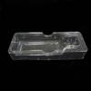 Transparent plastic blister earphone insert tray packaing