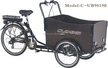 Pedal and Electric Cargo Trike for sale