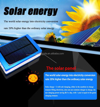 13000mAh Move Never Power off Outdoor accompany Solar Charger, solar power bank for mobiles
