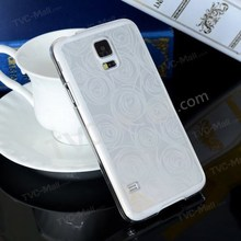 Carved Circles Electroplating Hard Shell Case for Samsung Galaxy S5 G900