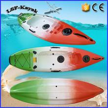 PE single plastic kayak canoe