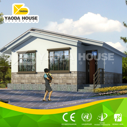 Export prefab house with steel structure