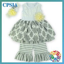 Wholesale Baby Clothing Suppliers China Girl Boutique Outfit Vintage Inspired Baby Dress Set