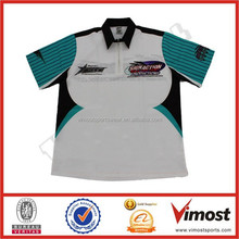 wholesale Race Crew Shirts Custom Sublimation With Own Design