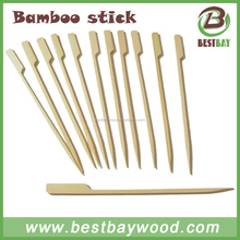 20cm flat bamboo stick for bbq