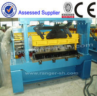 Roman type metal floor and roof wall tile making machines