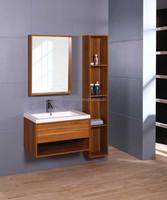 Modern MDF Laminated Melamine Bathroom Vanity, melamine board on particleboard/plywood/mdf