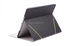 Aplus Ultra-thin high quality leather Multi standing case for iPad air2