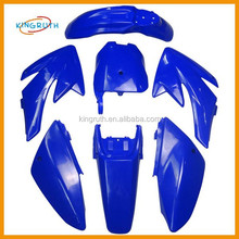 CRF PIT DIRT BIKE FAIRING PLASTICS CRF70 CRF 70 110cc 125cc 140cc 150cc 160cc PITBIKE Blue Color