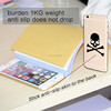 Fashionable design mobile phone decoration anti-slip gel skin for Samsung and Samsung S6