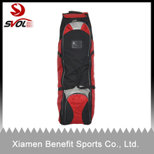 Wheeled golf travel cover bag