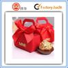 2015 chinese red fashion wedding candy box