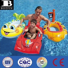 promotional customized pvc inflatable children cruiser swimmig pool toy kids swimming pool boat toy