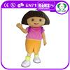 HI Popular hot! character dora the explorer mascot costume,custom mascot character,mascot