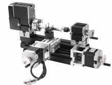 Lo nuevo de gran alcance 70 W Mini Metal del CNC torno A ; seguridad CNC flexible inteligente cooltool para el modelo hobby, madera suave de procesamiento de metales