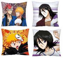Cotton Canvas Printing Japanese Anime Cartoon Throw Pillows