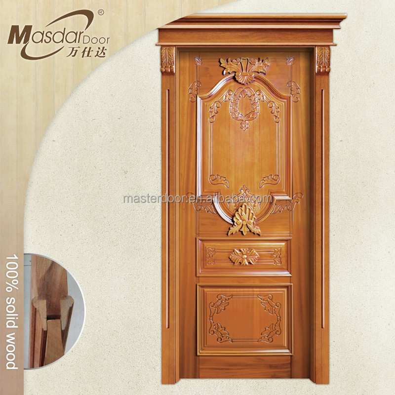 Teak wood main entrance door models