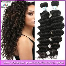 short brazilian remy deep wave hair weave