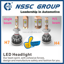 Hot sale!Auto car led headlight bulb H1 H7 H3 H8 H9 H11 H16 9005 9006 H4 H13 9004 9007highpower highbright led conversion kit