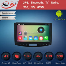 "Pure Android 4.4.4 OS 1024*600 Pixel Car Audio Gps Dvd For Magotan 10.1"" Touch Screen Bluetooth DVR GPS"