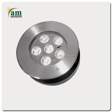 waterproof mini led round underwater light stainless steel ip68 fixture