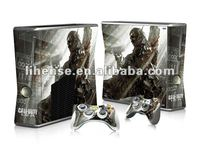 New Designs!! Color skin sticker for XBOX360 Slim from factory! Mixed designs & OEM is available!