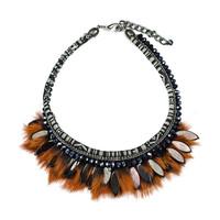 Handmade jewellery 2015, fashionable artificial jewellery, resin necklace jewellery