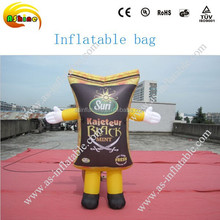 Customized inflatable model for advertising