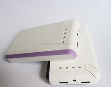 High quality real capacity 10000mah backup batteries universal power bank smartphone travel charger