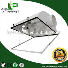 """Hydroponics growing system 6"""" air cool grow light reflector/indoor grow light chimney"""