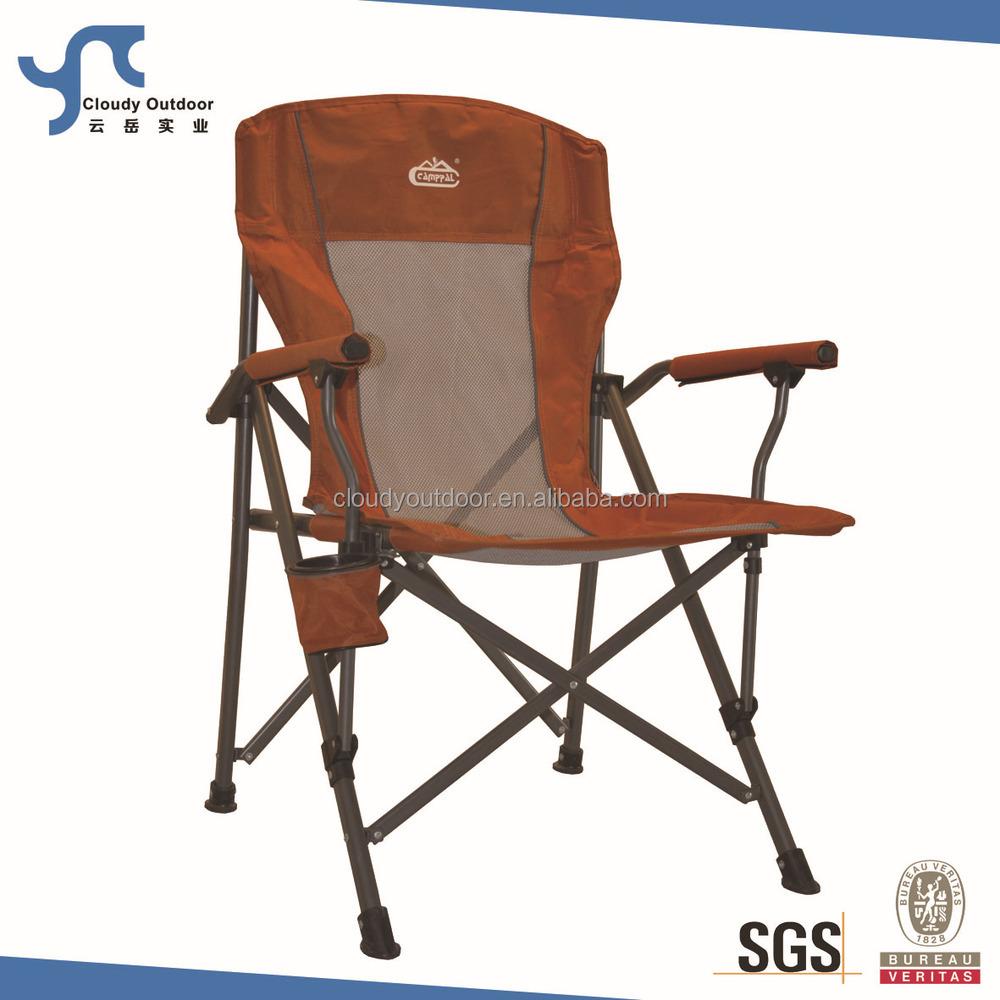 Maccabee chaises de camping plage pliant chaise en acier for Chaise de camping pliante