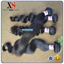 7A top quality body wave brazilian human hair hair bang