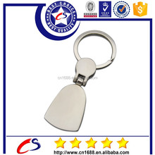 Blank key chain for promotional
