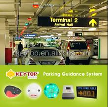 intelligent parking guidance system with car detector sensor/ip camera based parking guidance system