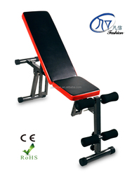 New Design Fitness home gym equipment/Sit up Bench/abdominal/home sit up exercise equipment