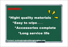 Standar dry erase magnétique vert chalk conseil type BW-V1