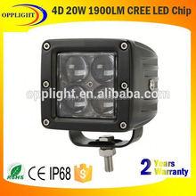 20w led tractor headlights led cube light moto work lamp
