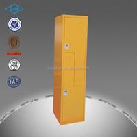 2 tier Z shaped metal wardrobe locker