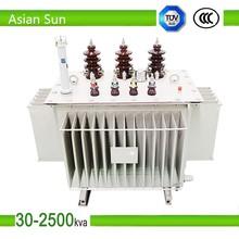 S11 250va /10kv-0.4kv oil immersed electric power transformer