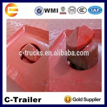 made china Chengda brand high quality sale flat-bed semi trailer twist container locks