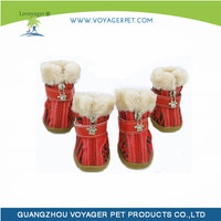 Lovoyager Eco Friendly Waterproof Rubber Sole Dog Boots for Wholesales