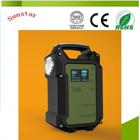 Emergency Tools multi-function 36000mah smart 36v electric bike tazer battery charger car battery jump starters