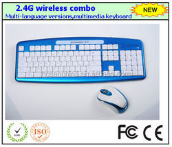 High quality wireless keyboard mouse combo