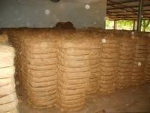 Brown coir fibre for making nets